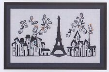 Paris 1889 - cross stitch chart - Maggi Co's Village