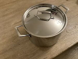 Gourmet Tri-Ply Clad 8 Qt. Stock Pot And Lid