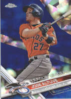 JOSE ALTUVE 2017 TOPPS CHROME SAPPHIRE EDITION #214 ONLY 250 MADE
