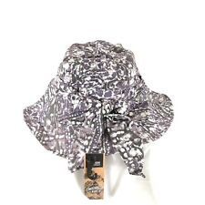 Outdoor Research Womens Delray Sun Hat Wire Brim Bow Lightweight Purple Abstract