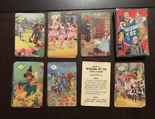 Wizard of Oz - Vintage Playing Cards - 1940 - UK Castell Bros. - In Box - Wow!