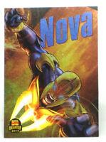 2013 Fleer Marvel Retro Nova Power Blast Card Limited Edition Insert #15 of 21