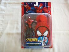 Super Poseable Spider-Man Action Figure – MOC – Leap And Stick Action – Rare