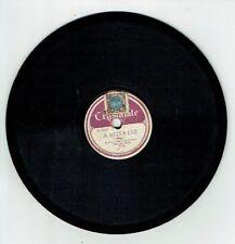 78T 17 cm Orchestre Typique RYTO Pygmo Disque Phono A MEDIA LUZ -CRYSTALATE 1088