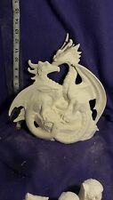 "Ceramic bisque Doc Holiday 11""  Dragon first love ready to paint"