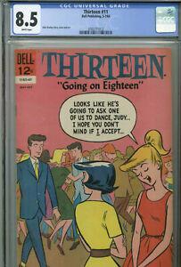 "Thirteen ""Going on Eighteen"" #11 - May-July, 1964 - CGC 8.5"