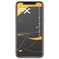 3x Antireflex Lámina Protectora de Pantalla Apple iPhone XS Max Front cover