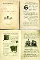 L'ABBICI DELL'ELETTROTECNICA-illustrazioni EPOCA-1911 Motori Telegrafo Magneti