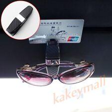 Car Accessory Black Sunglasses Clip Sun Visor Eye Glasses ID Card Ticket Holder
