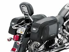 Kuryakyn 4171 GranThrow-Over Saddlebags Black-NEW