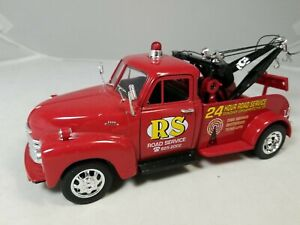 Welly American Mint 1953 Chevrolet Tow Truck - 1:24 Scale RS Road Service