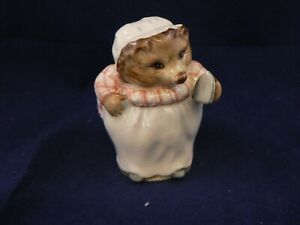 BESWICK BEATRIX POTTER MRS TIGGY WINKLE BP1b GOLD PARALLEL LINES REDUCED !!