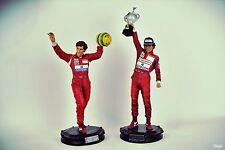 1/6 Scale Kotobukiya Ayrton Senna Statue 1991 Brazilian 1993 Japanese Grand Prix
