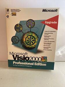 Microsoft Visio 2000 Professional Edition Upgrade