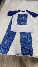 Boy's 2 Piece Children's Place XXL 16 Game On Pajama Set