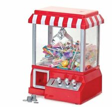 Arcade Candy Grabber Machine Toy Claw Game Kids Fun Crane Sweet Grab Gadget NEW