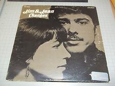 Jim & Jean Changes Al Kooper Rare Stereo Folk LP Verve Records Fast Shipping!!