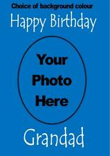 Personalised Custom Photo Card - your photo and text