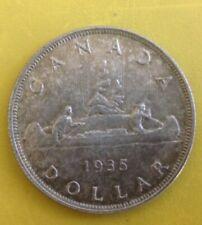 Canada 1935 80% Silver Dollar Coin
