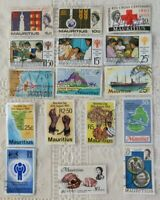 16 x 1970/60's Mauritius Stamps  International Year Of The Child 1979 & more #02