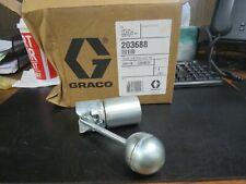 "GRACO 203688 LOW-LEVEL 1.5"" NPT CUTOFF FOR FAST BALL & FIRE BALL PUMP (NIB)"