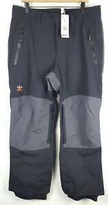 NWT Adidas Mens 20K Fixed Snowboarding Pants Sz Large Elastic Cuffs Waterproof