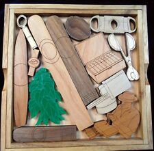 Cigar Lovers Challenge Puzzle - Wood & Acrylic Brain Teaser