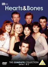 Hearts and Bones The Complete Series 1 and 2 Digital Versatile Disc DVD Reg