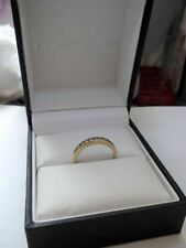 Ernest Jones Engagement Yellow Gold Fine Diamond Rings