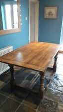 Vintage oak dining table 5ft farmhouse/refectory