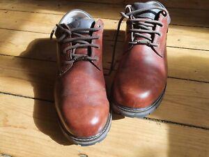 BRASHER Mens walking shoes UK SIZE 10 Brown VGC