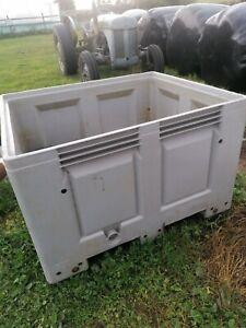 Used Plastic Pallet Box / Storage Bin