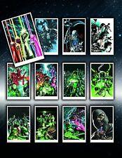 DC COMICS BLACKEST NIGHT COVER PORTFOLIO SET #1 ~BRAND NEW~