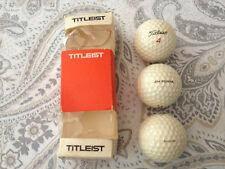 Vintage SLEEVE Three TITLEIST/ same- ACUSHNET  Golf Balls circa 1960's - PENNA