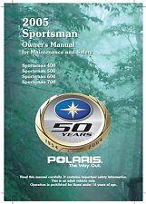 Polaris Owners Manual Book 2005 Sportsman 500