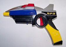 Incomplete Power Rangers SPD Delta Blaster Lights Sounds