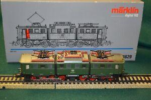 Marklin 3629 HO Scale BR191 Electric Locomotive /Box And Original Instructions