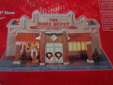 HOME DEPOT STORE 2014 LIGHTED CERAMIC BUILDING