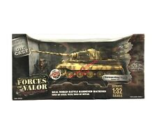 1:32 Scale Diecast Unimax Toys Forces of Valor WWII German King Tiger Tank