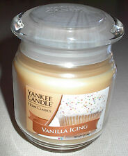 Yankee Vanilla Icing 7 oz Jar Candle 35-45 Hrs NEW