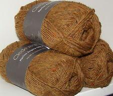 5 x 50g Balls - Merino-Angora-Silk 8ply - By Cleckheaton - Colour Ochre #0007