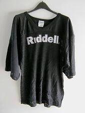 Riddell Sports Football Jersey Mesh Black White Adult 1X Large Shirt - NOS