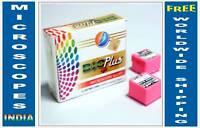 300 Blank Slides + 300 Square Cover Slips for Compound Light Microscopes