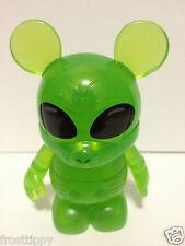 "Disney Vinylmation Urban #7 NEW 3"" Clear Green Alien NOT Variant RETIRED OOP"