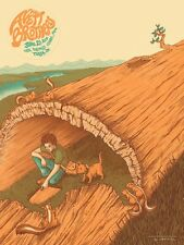The Avett Brothers 6/21/2014 Poster Tulsa OK Signed & Numbered #/200