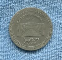 1985 Jupiters Casino Conrad International Hotel Gold Coast $1 Gaming Token N-621
