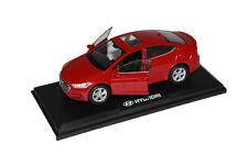 PINO 1:38 Scale Hyundai 2017+ Elantra, Avante AD Diecast Car Toy Fiery Red