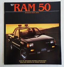 1987 Dodge Imported From Japan Ram 50 Brochure MINT by Mitsubishi Motors