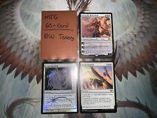Mtg Complete 60-Card Decks - *Black White Tokens* - Serra the Benevolent + More