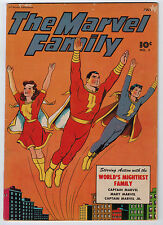 MARVEL FAMILY #3 4.5 FAWCETT 1946 OFF-WHITE/WHITE PAGES GOLDEN AGE